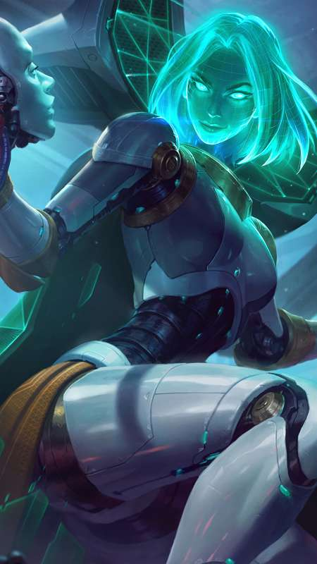 League of Legends Handy Vertikal Hintergrundbild