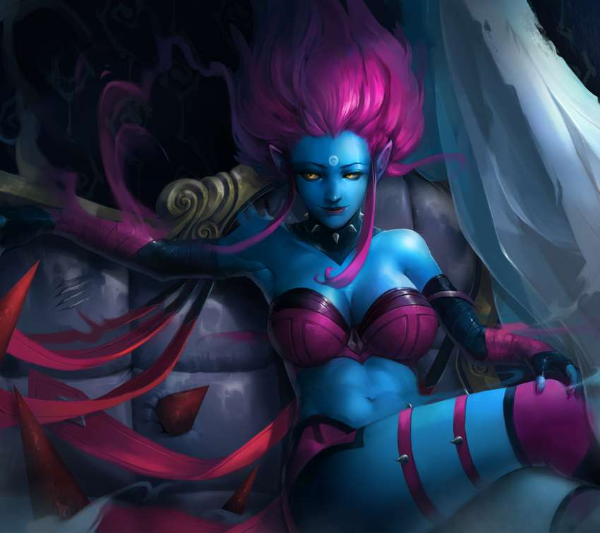 League of Legends fan art Handy Horizontal Hintergrundbild