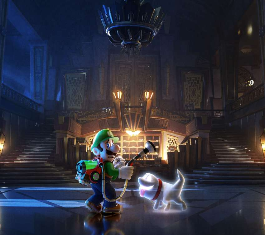 Luigi's Mansion 3 Handy Horizontal Hintergrundbild