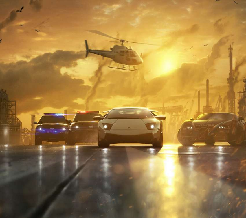 Need for Speed - Most Wanted Handy Horizontal Hintergrundbild