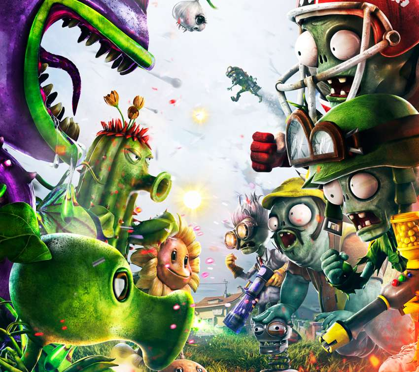 Plants vs. Zombies: Garden Warfare Hintergrundbild