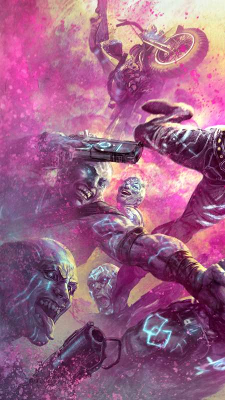 Rage 2: Rise of the Ghosts Handy Vertikal Hintergrundbild
