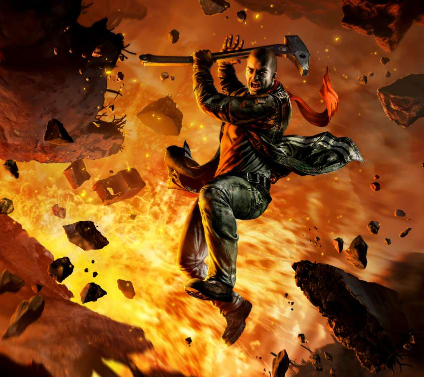 Red Faction: Guerrilla Re-Mars-tered Hintergrundbild