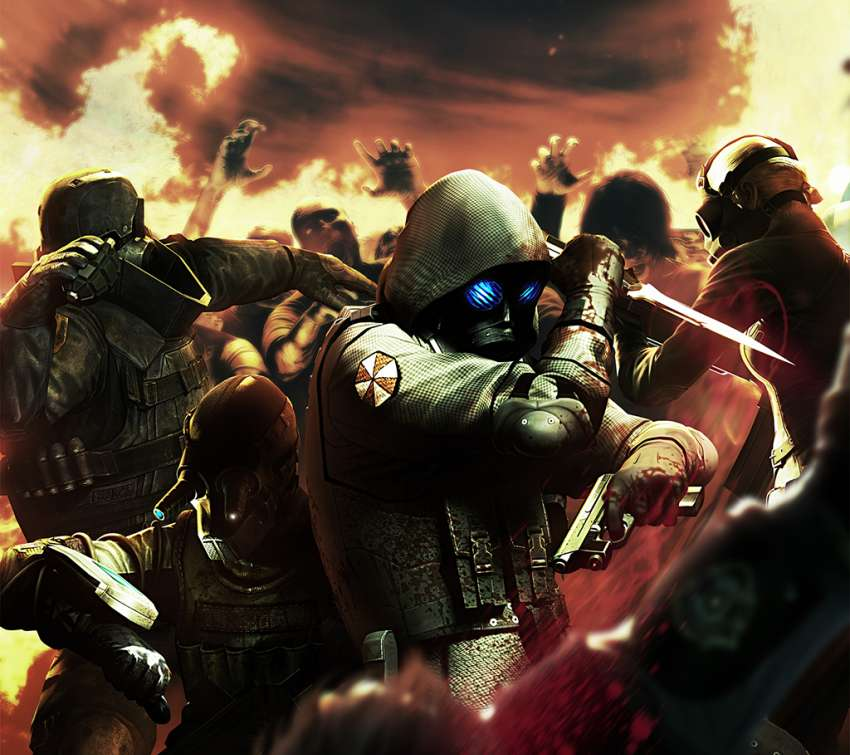Resident Evil: Operation Raccoon City Handy Horizontal Hintergrundbild