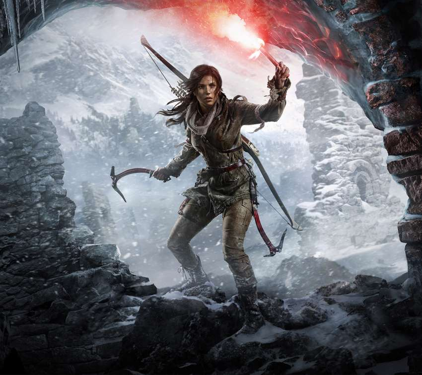 Rise of the Tomb Raider Handy Horizontal Hintergrundbild