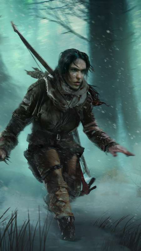 Rise of the Tomb Raider: Baba Yaga - The Temple of the Witch Handy Vertikal Hintergrundbild