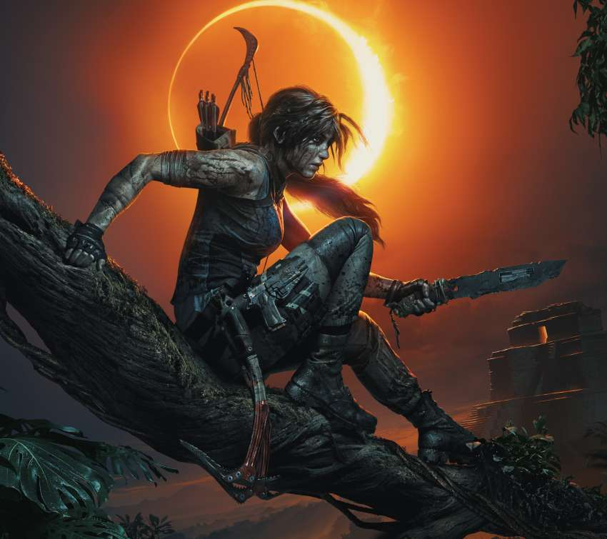 Shadow of the Tomb Raider Handy Horizontal Hintergrundbild