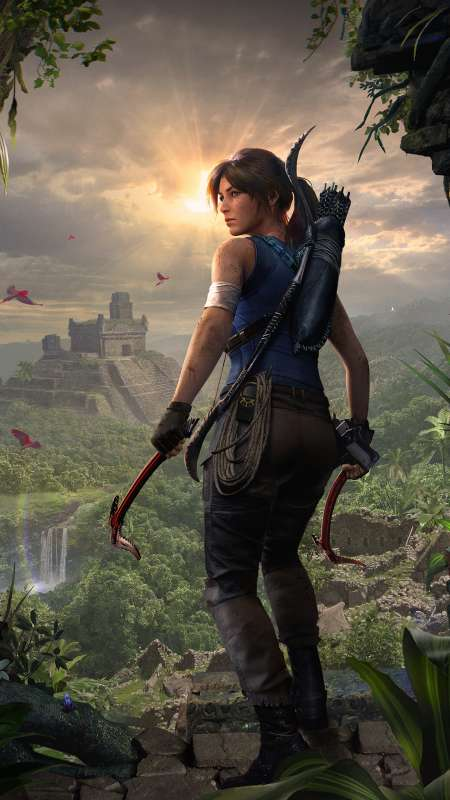 Shadow of the Tomb Raider Handy Vertikal Hintergrundbild