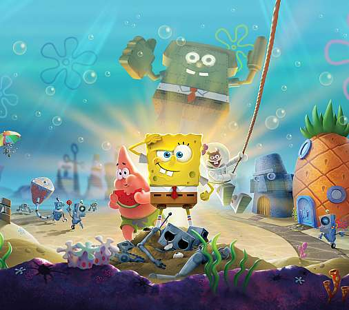 SpongeBob SquarePants: Battle for Bikini Bottom - Rehydrated Handy Horizontal Hintergrundbild