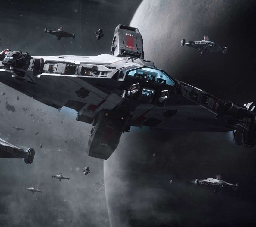 Star Citizen Handy Horizontal Hintergrundbild