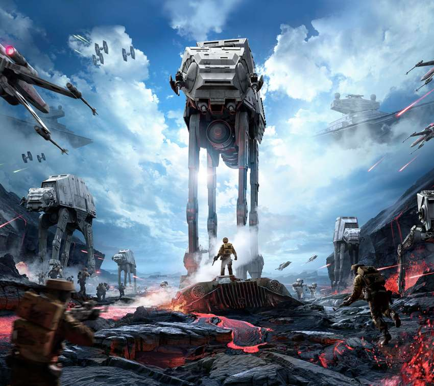 Star Wars - Battlefront Handy Horizontal Hintergrundbild
