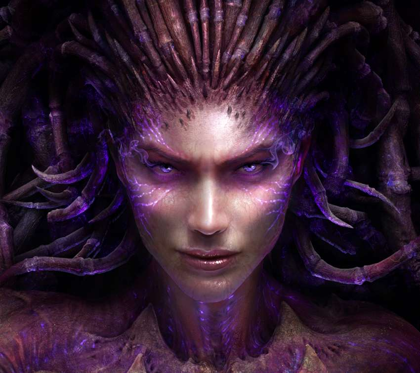 StarCraft 2: Heart of the Swarm Handy Horizontal Hintergrundbild