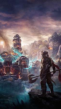 The Elder Scrolls Online: Markarth Handy Vertikal Hintergrundbild