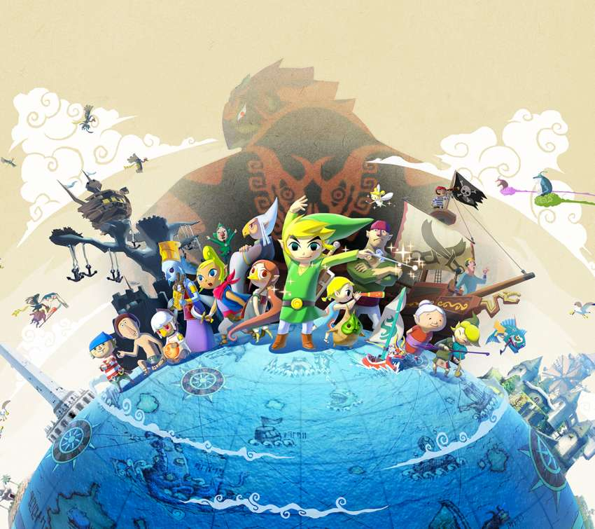 The Legend of Zelda: The Wind Waker HD Handy Horizontal Hintergrundbild