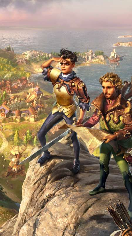 The Settlers: History Collection Handy Vertikal Hintergrundbild
