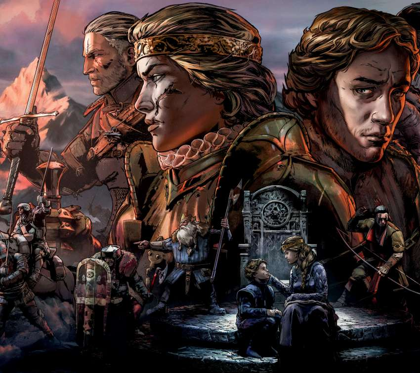 Thronebreaker: The Witcher Tales Handy Horizontal Hintergrundbild