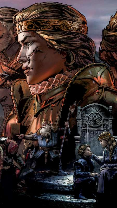 Thronebreaker: The Witcher Tales Handy Vertikal Hintergrundbild