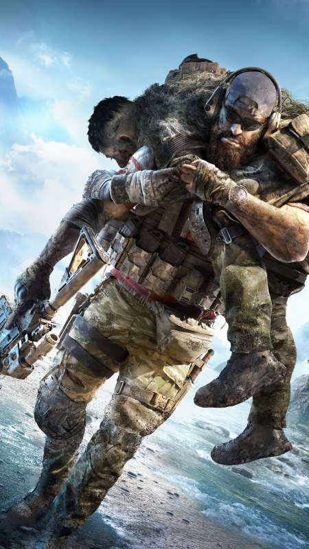 Tom Clancy's Ghost Recon Breakpoint Handy Vertikal Hintergrundbild