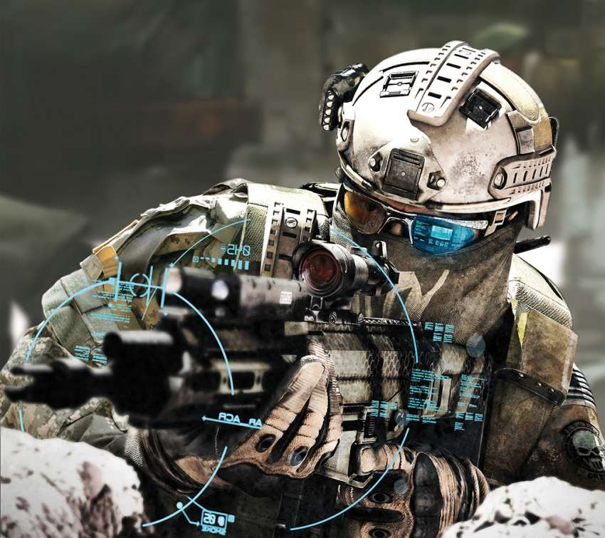 Tom Clancy's Ghost Recon: Future Soldier Handy Horizontal Hintergrundbild