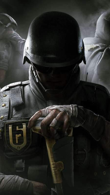 Tom Clancy's Rainbow Six: Siege Handy Vertikal Hintergrundbild