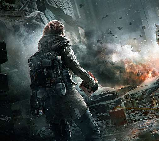 Tom Clancy's The Division Handy Horizontal Hintergrundbild