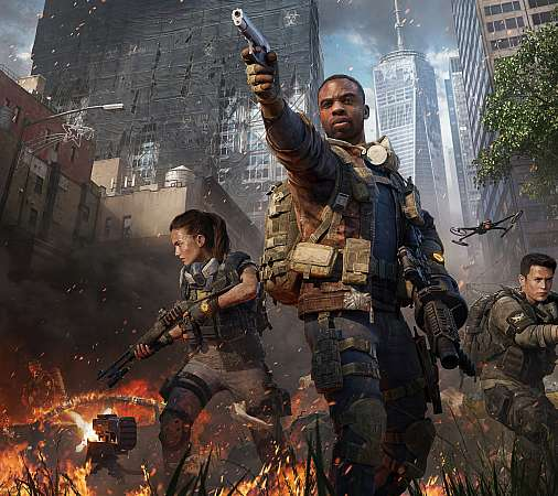 Tom Clancy's The Division 2 - Warlords of New York Handy Horizontal Hintergrundbild