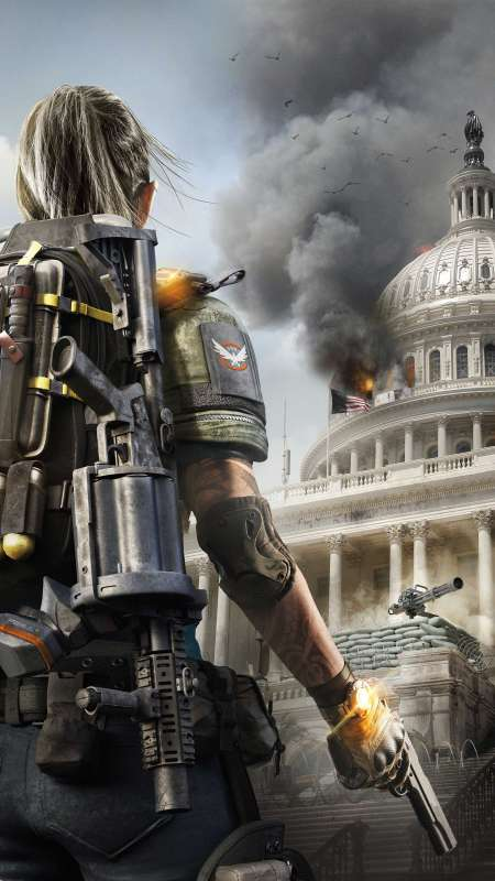 Tom Clancy's The Division 2 Handy Vertikal Hintergrundbild