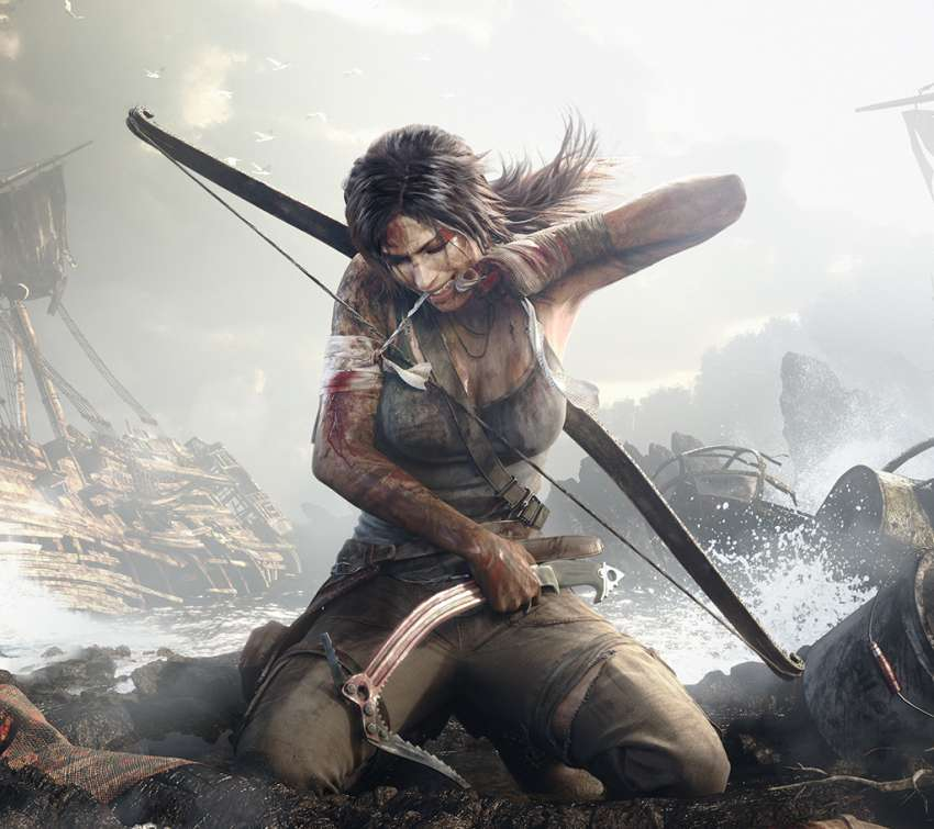 Tomb Raider Handy Horizontal Hintergrundbild