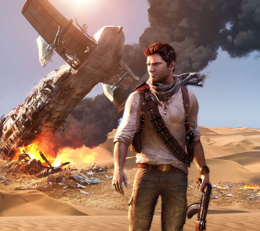 Uncharted 3: Drake's Deception Handy Horizontal Hintergrundbild
