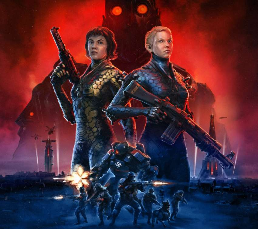Wolfenstein: Youngblood Handy Horizontal Hintergrundbild