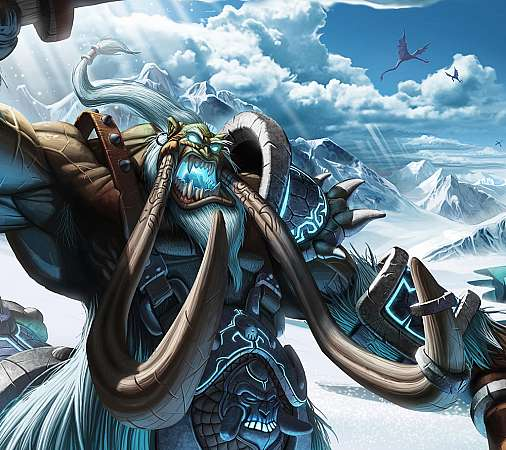 World of Warcraft: Trading Card Game Handy Horizontal Hintergrundbild