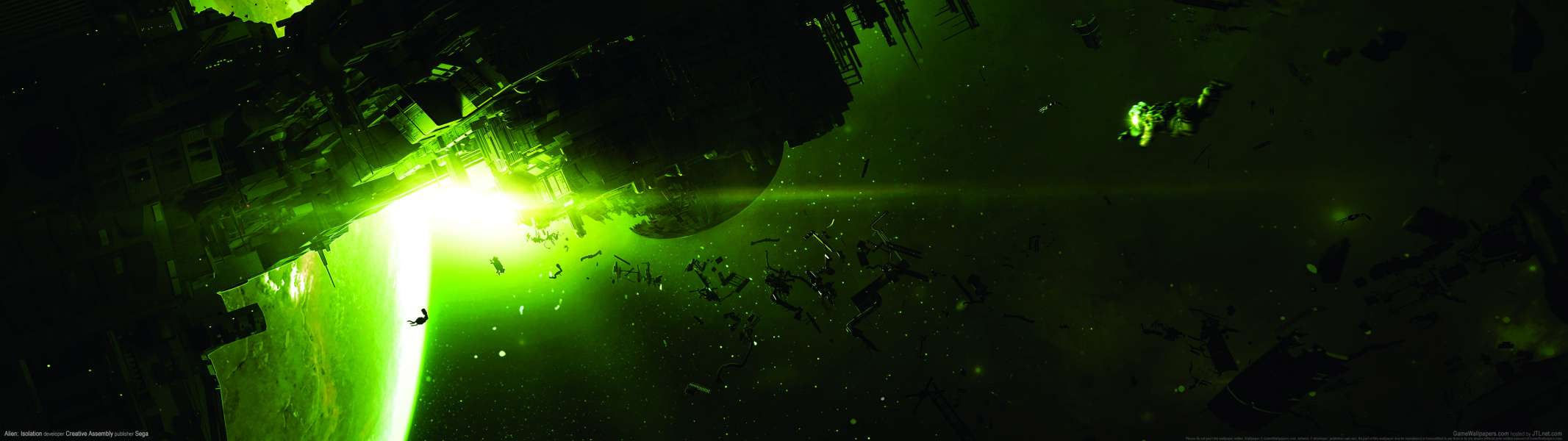 Alien: Isolation dual screen Hintergrundbild
