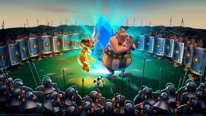Asterix & Obelix XXL3: The Crystal Menhir Hintergrundbild