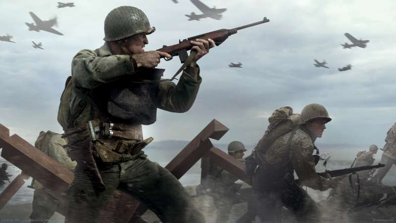 Call of Duty: WW2 Hintergrundbild 02