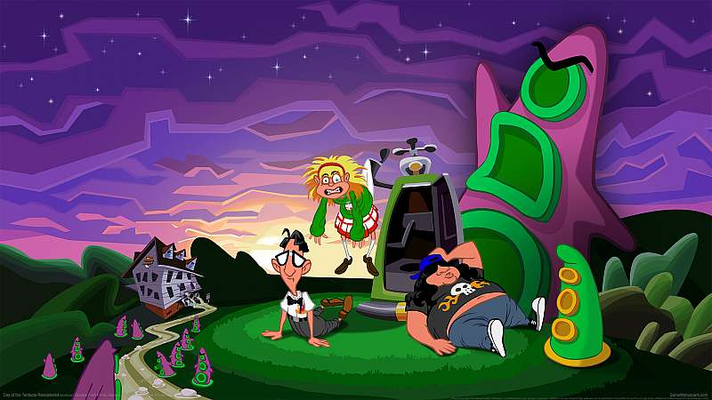 Day of the Tentacle Remastered Hintergrundbild