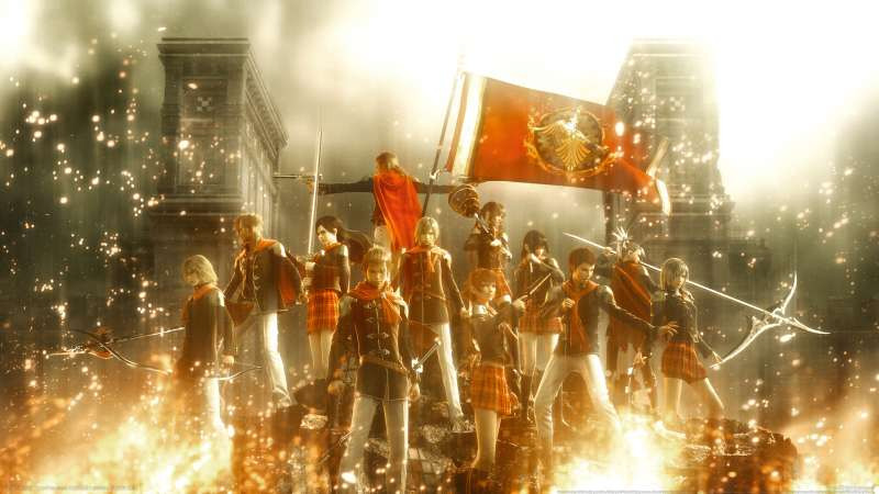 Final Fantasy Type-0 Hintergrundbild 02
