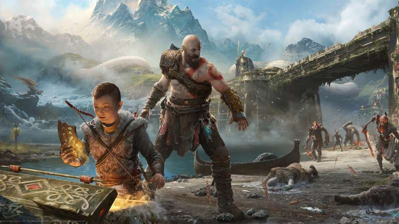 God of War 2017 Hintergrundbild 07