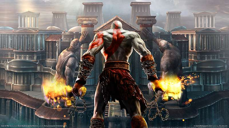 God of War 2 Hintergrundbild