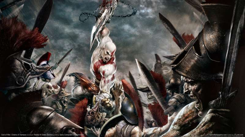 God of War: Chains of Olympus Hintergrundbild