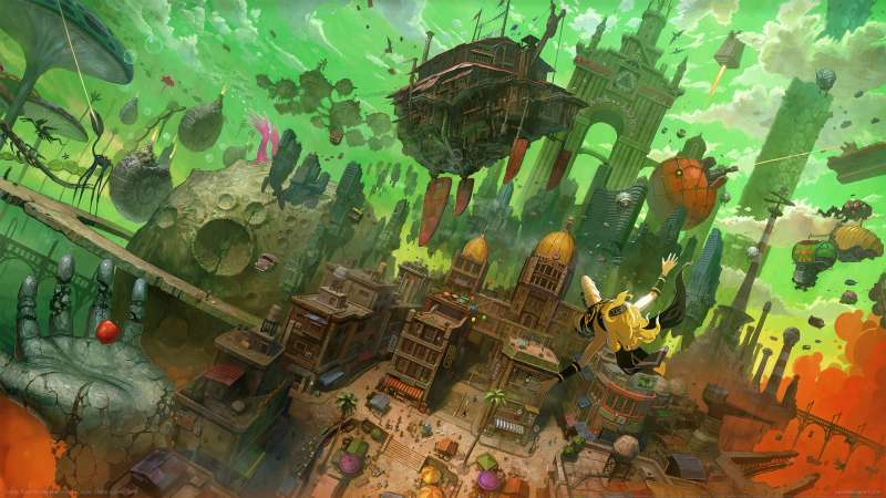 Gravity Rush Remastered Hintergrundbild 03
