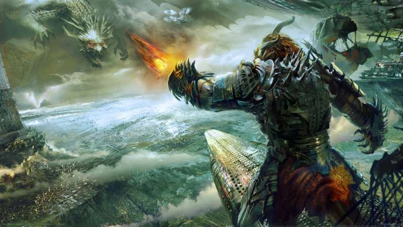 Guild Wars 2: Heart of Thorns Hintergrundbild 01