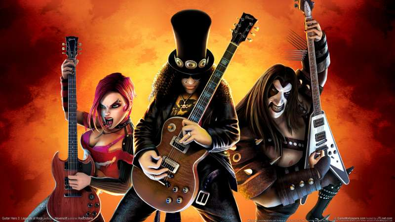 Guitar Hero 3: Legends of Rock Hintergrundbild 01