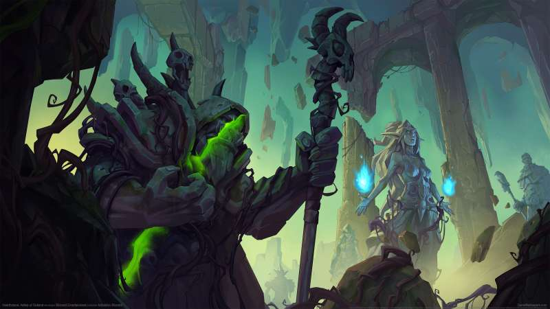 Hearthstone: Ashes of Outland Hintergrundbild