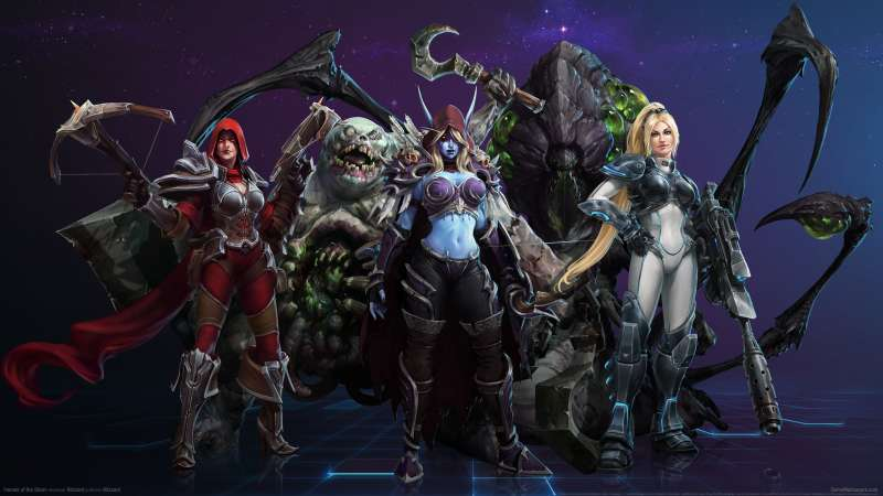 Heroes of the Storm Hintergrundbild 03