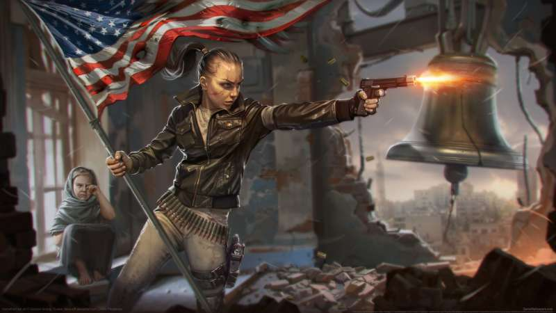 Homefront fan art Hintergrundbild