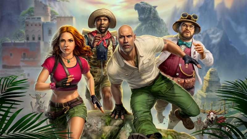 Jumanji: The Video Game Hintergrundbild