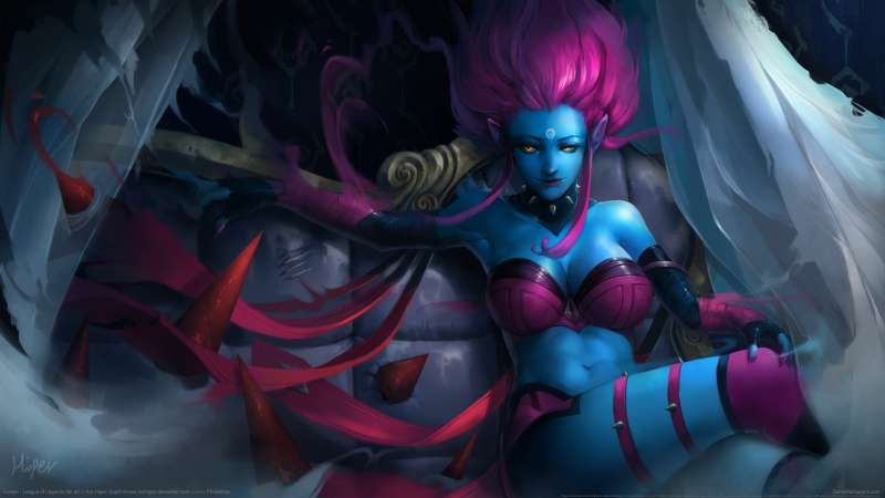 League of Legends fan art Hintergrundbild