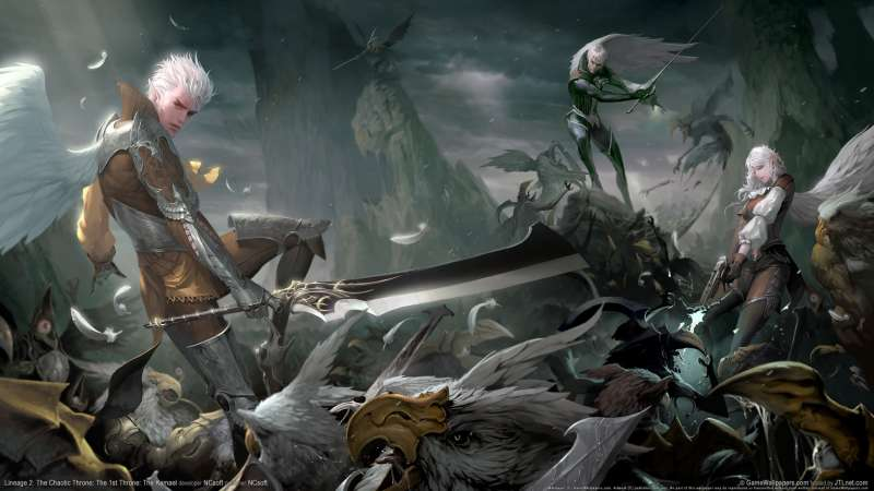 Lineage 2: The Chaotic Throne: The 1st Throne: The Kamael Hintergrundbild 04