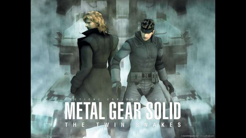 Metal Gear Solid: The Twin Snakes Hintergrundbild 01