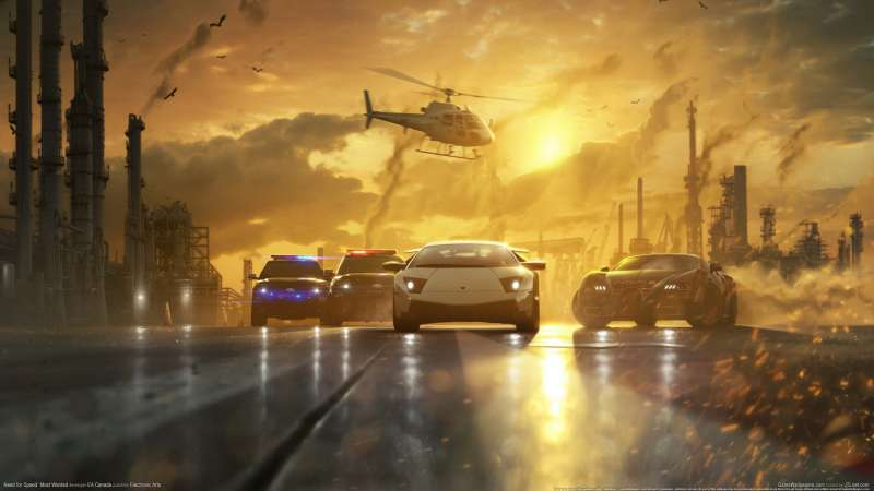 Need for Speed - Most Wanted Hintergrundbild